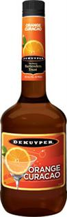 Dekuyper Liqueur Orange Curacao 1.00l